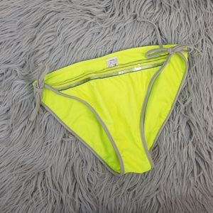 Arizona Jeans Co. Neon Yellow Bikini Bottom XL